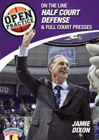 Cover: open practice: on the line half court defense & full court presses