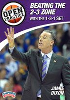 Cover: open practice: beating the 2-3 zone with the 1-3-1 set