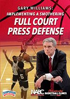 Cover: implementing a smothering full court press defense