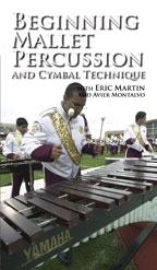 Cover: beginning mallet percussion and cymbal technique
