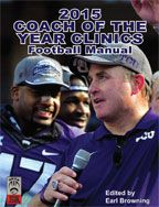 Cover: 2015 nike coach of the year clinics football manual
