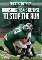 Cover: eric kasperowicz: adjusting the 4-3 defense to stop the run