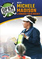 Cover: open practice with michele madison & virginia field hockey