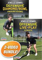 Cover: jenelle downs field hockey 2-pack