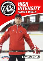 Cover: open practice: high intensity hockey drills