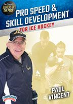 Cover: paul vincent's secrets of the pros: pro speed & skill development for ice hockey