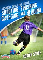 Cover: technical skills for soccer: shooting, finishing, crossing, and heading