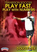Cover: transition soccer: play fast, play with numbers