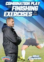 Cover: combination play and finishing exercises on goal