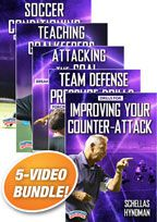 Cover: schellas hyndman coaching soccer 5-pack