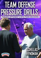 Cover: team defense pressure drills: forcing opponents into poor decisions