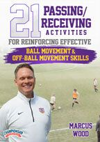 Cover: 21 passing/receiving activities for reinforcing effective ball movement & off-ball movement skills