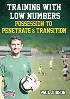 Cover: training with low numbers - possession to penetrate & transition