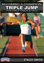 Cover: becoming a champion: triple jump for girls' track & field