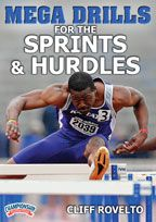 Cover: mega drills for the sprints and hurdles