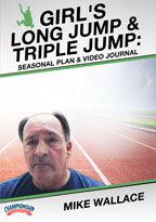 Cover: online seasonal training plan: girl's long jump and triple jump