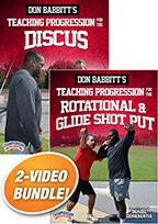 Cover: don babbitt's teaching progression for the throws 2-pack