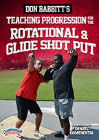 Cover: don babbitt's teaching progression for the rotational & glide shot put