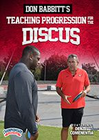 Cover: don babbitt's teaching progression for the discus