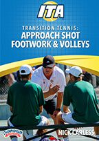 Cover: transition tennis: approach shot footwork and volleys