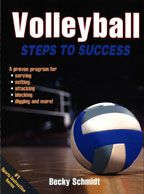 Cover: volleyball steps to success