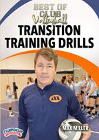 Cover: best of club volleyball: transition training drills