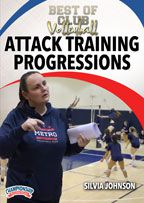 Cover: best of club volleyball: attack training progressions