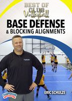 Cover: best of club volleyball: base defense and blocking assignments