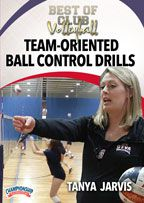 Cover: best of club volleyball: team-oriented ball control drills