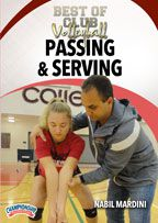 Cover: best of club volleyball: passing & serving
