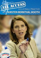 Cover: all access volleyball practice with kirsten bernthal booth