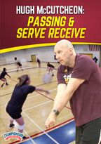 Cover: hugh mccutcheon: passing & serve receive