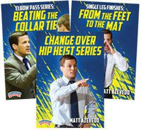 Cover: matt azevedo coaching wrestling 3-pack