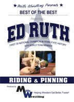 Cover: ed ruth - riding and pinning