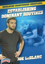 Cover: developing championship wrestlers: establishing dominant routines