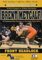 Cover: brent metcalf - front headlock