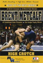 Cover: brent metcalf - high crotch