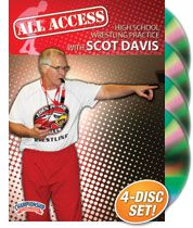 Cover: all access high school wrestling practice with scot davis