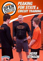Cover: open practice: peaking for state & circuit training