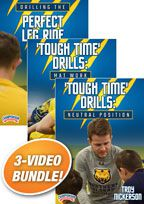 Cover: troy nickerson's wrestling drills 3-pack