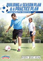 Cover: building a season plan and a practice plan for youth soccer