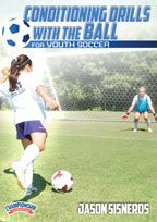 Cover: conditioning drills with the ball for youth soccer