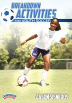 Cover: breakdown activities for youth soccer