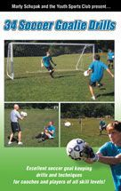 Cover: 34 soccer goalie drills