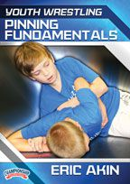 Cover: youth wrestling: pinning fundamentals